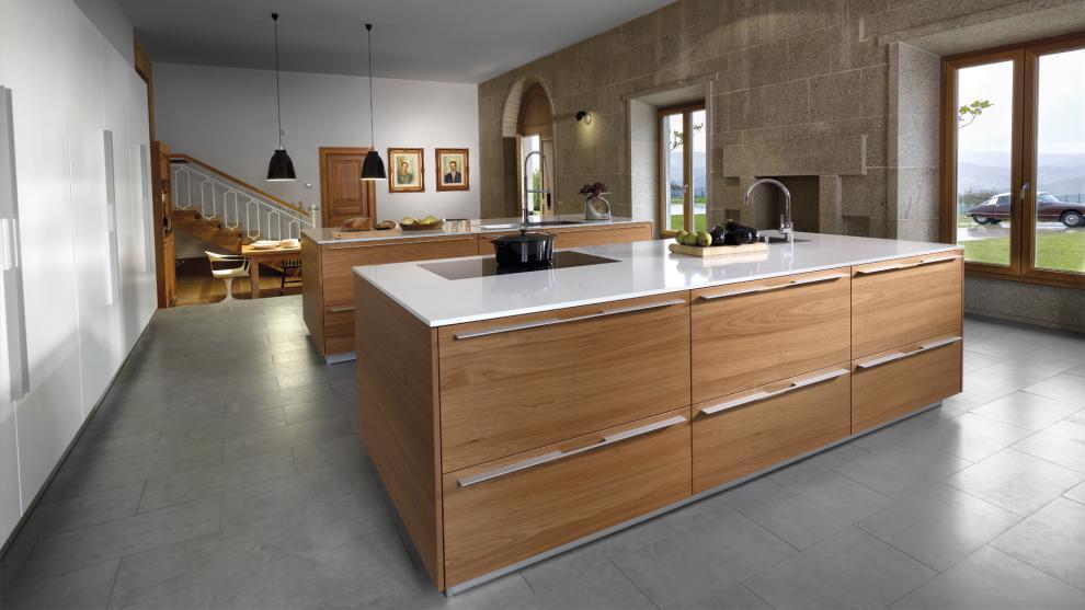 Modelo wood natura estudio cocinas dc - Cocinas santos valencia ...