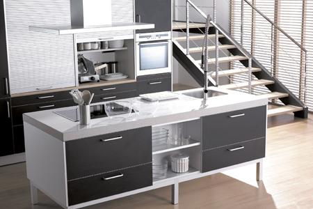cocina aluminia