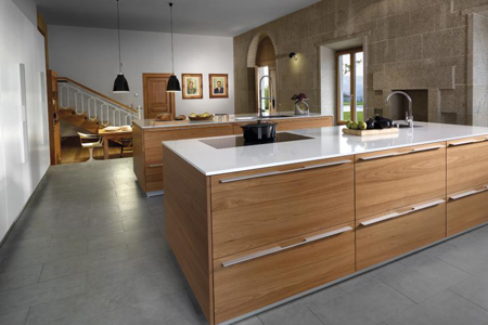 cocina wood natural