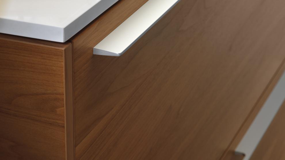 cocina de madera detalle