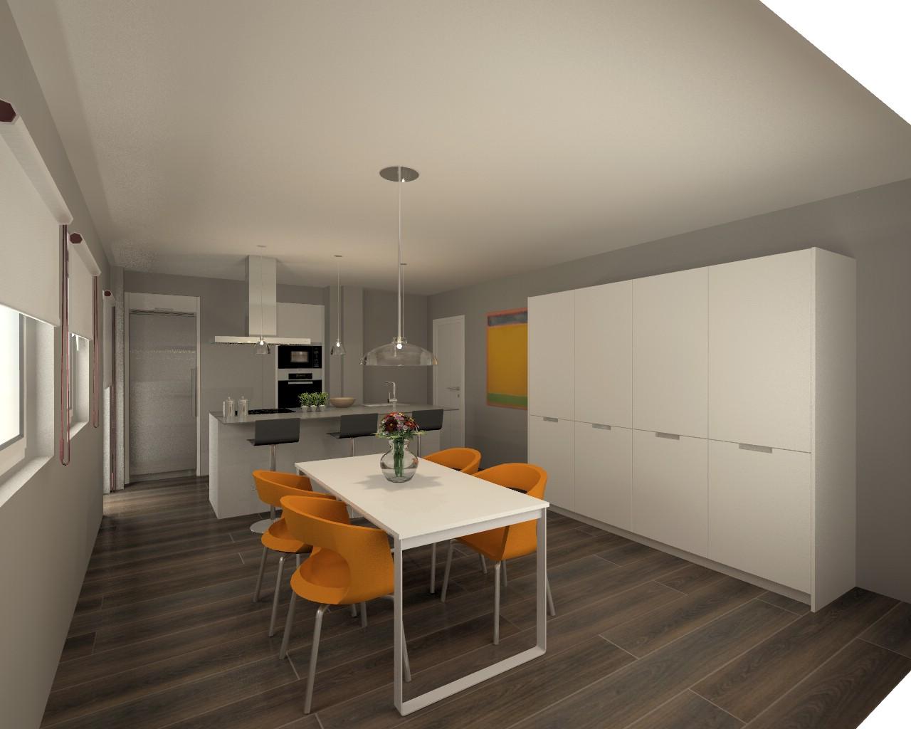 Proyecto cocina santos modelo line e con encimera neolith for Proyecto cocina