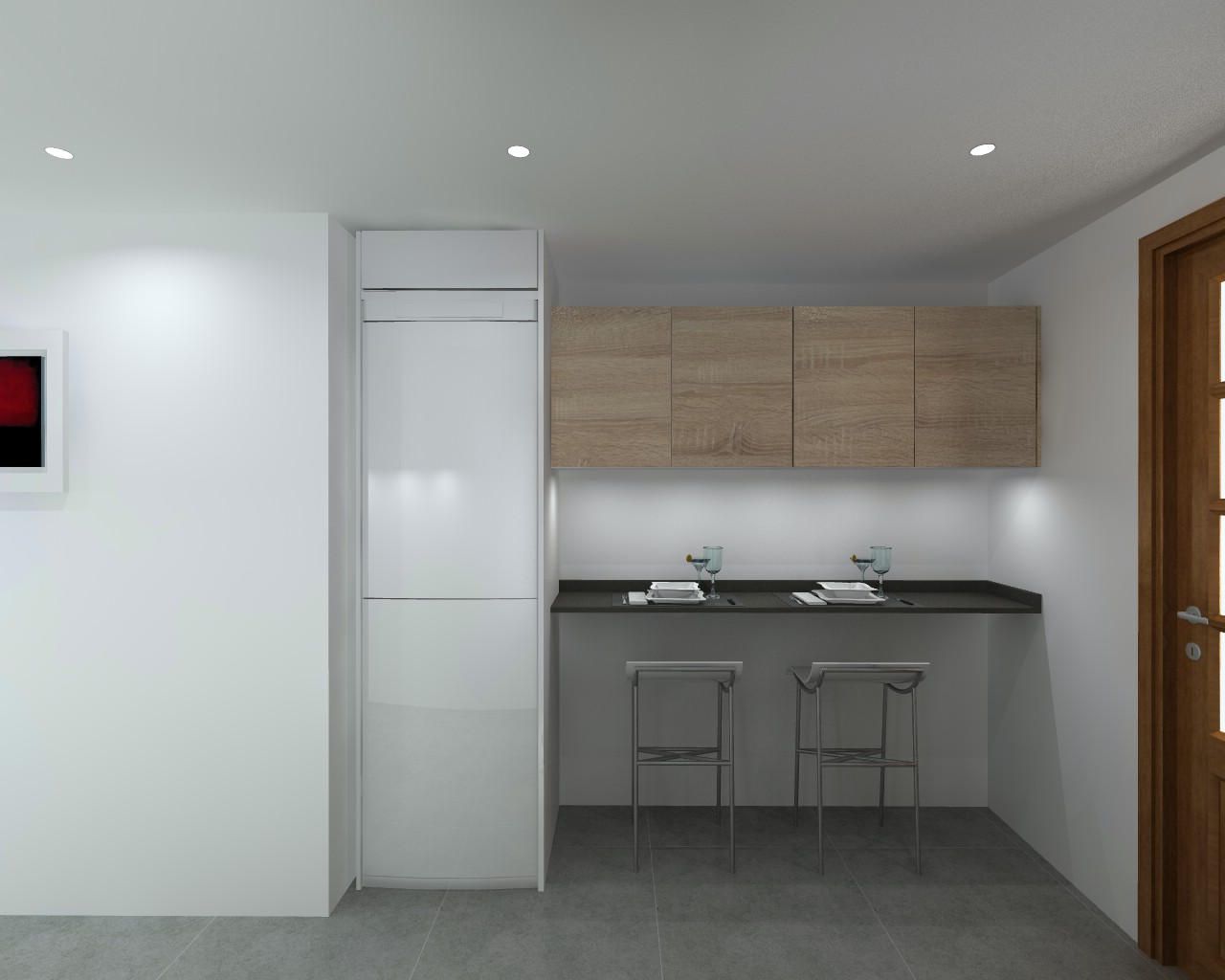 Proyecto cocina santos modelo line e con encimera for Proyecto cocina