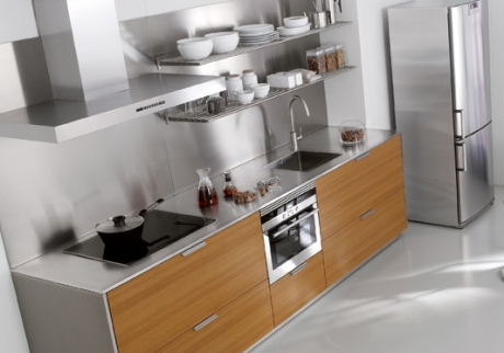 C mo limpiar las encimeras de la cocina estudio cocinas dc for Cocinas de acero inoxidable para casa