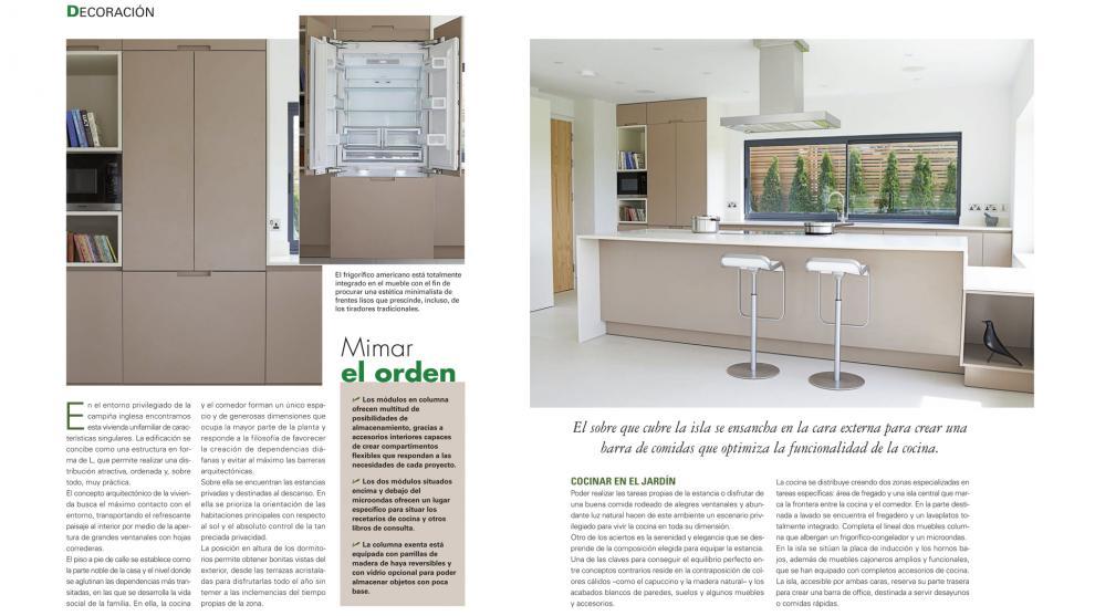 Muebles de cocina santos dise os que ayudan a generar for Muebles de cocina funcionales