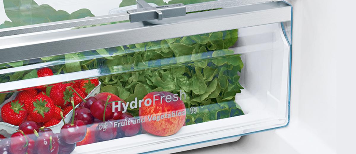 Guardar Frutas y Verduras en Frigorifico