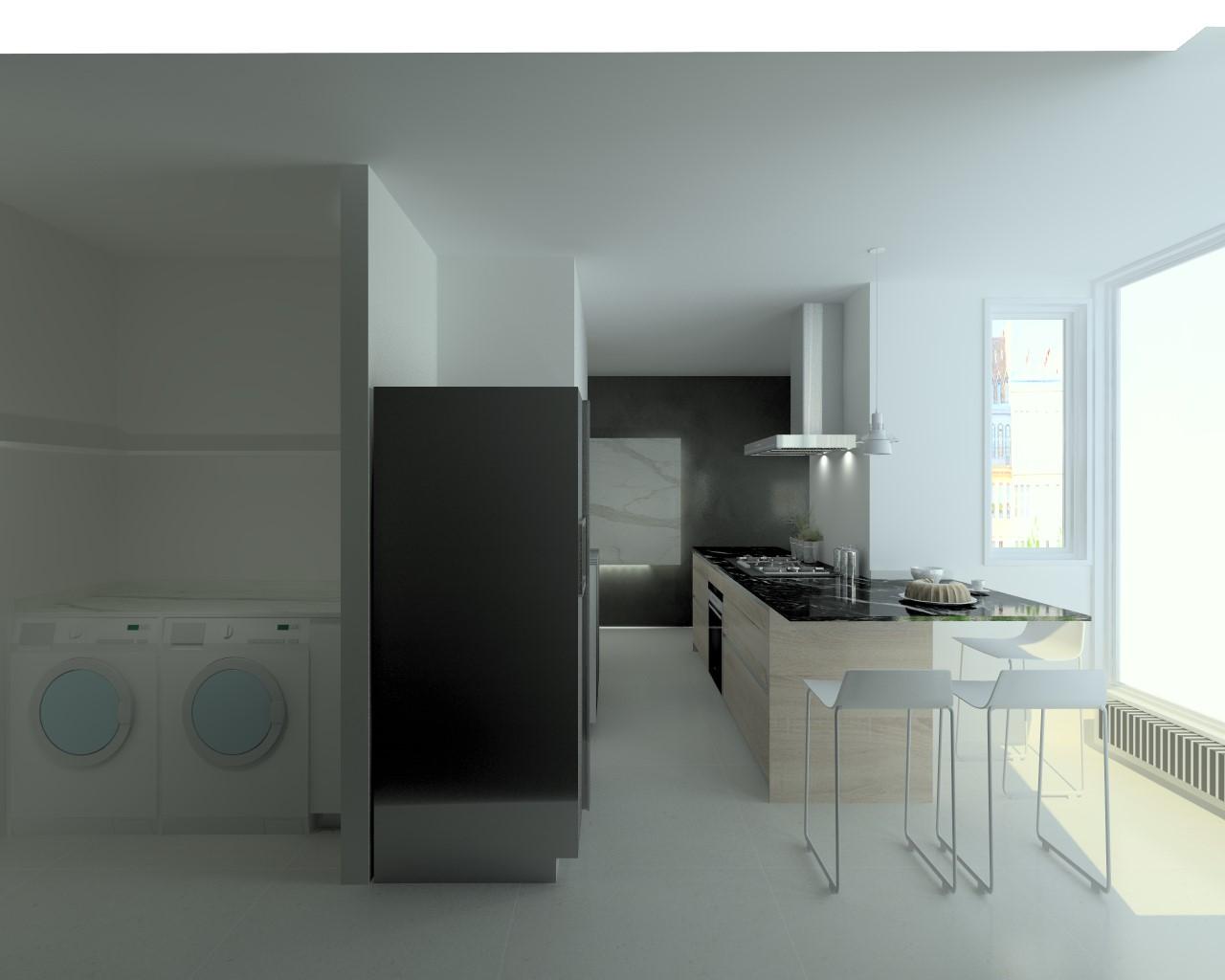 Encimera marmol cocina cocina santos modelo line laminado for Encimera de marmol precio