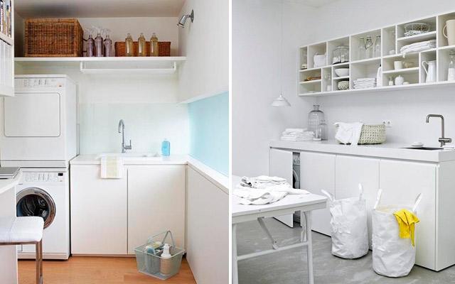 C mo configurar un lavadero funcional estudio cocinas dc for Lavadero terraza