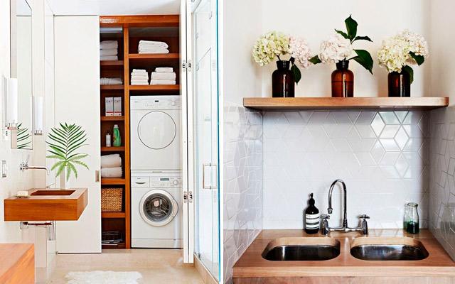 C mo configurar un lavadero funcional estudio cocinas dc for Mi habitacion huele a humedad