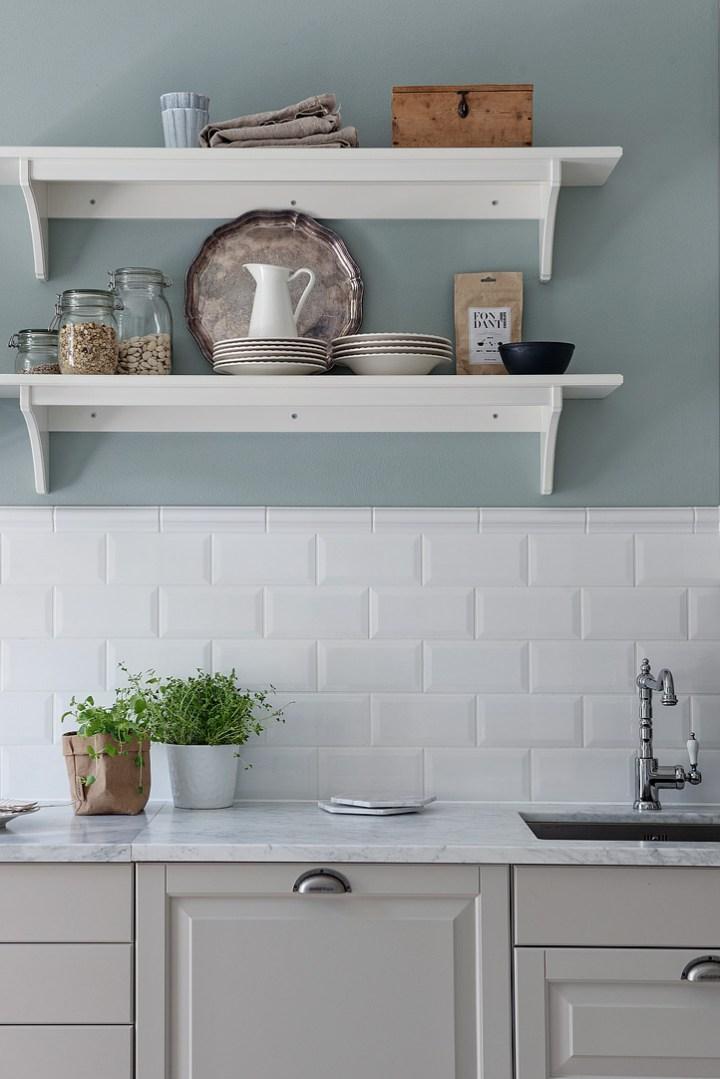 Cocinas actuales con aire vintage estudio cocinas dc - Casas decoradas con muebles de ikea ...