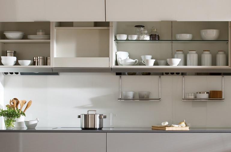 Muebles altos de cocina como elemento de confort estudio for Muebles altos de cocina