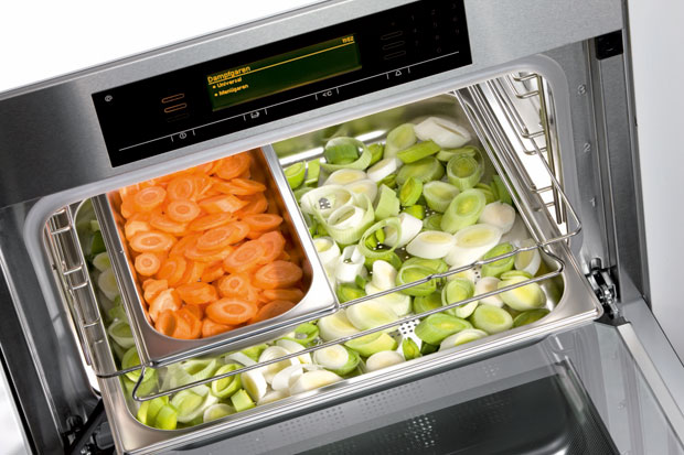 Ventajas de cocinar con horno de vapor estudio cocinas dc for Cocinar con horno de vapor