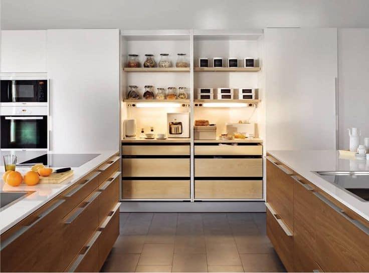 Zona de desayuno en cocinas