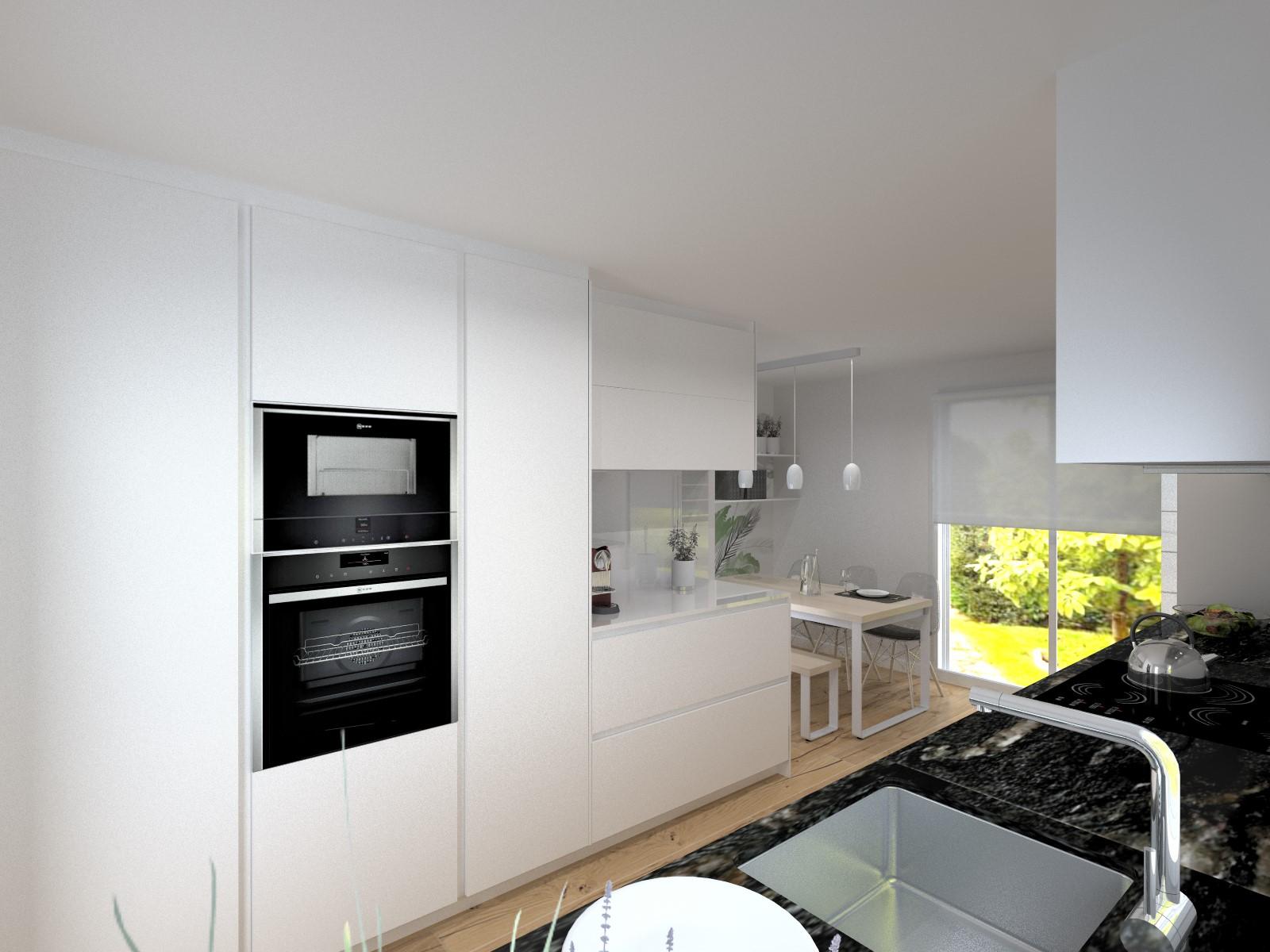 Combinaci N Y Equilibrio De Tonos Estudio Cocinas Dc # Muebles Equilibrio