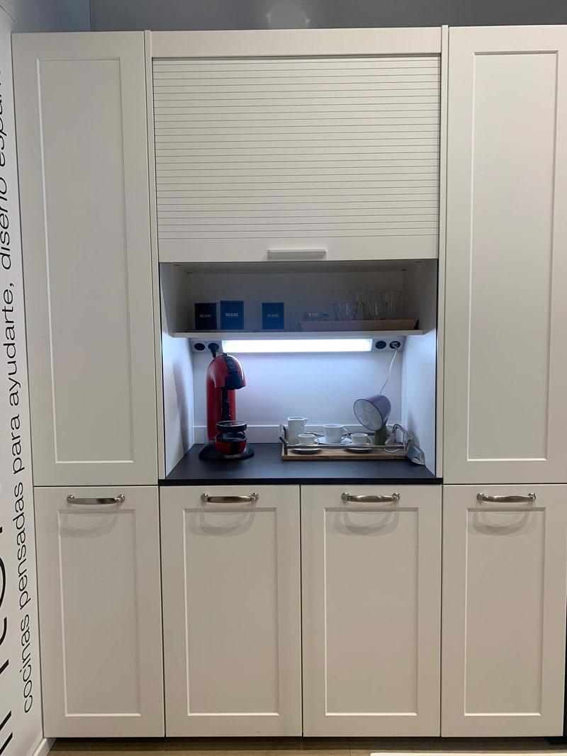Cocina Marco en blanco