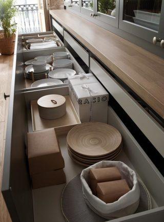 Cajones de mueble de cocina Santos