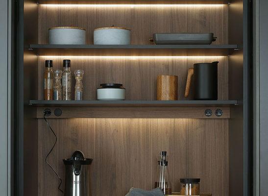 Iluminacion interior muebles de cocina Santos