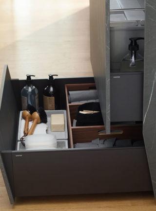 Mueble portafregadero y zócalo