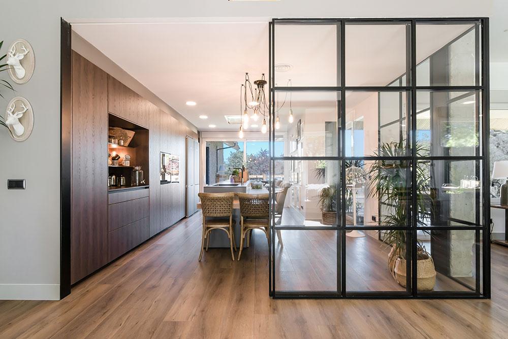 Cocina Santos Clásica puerta cristal