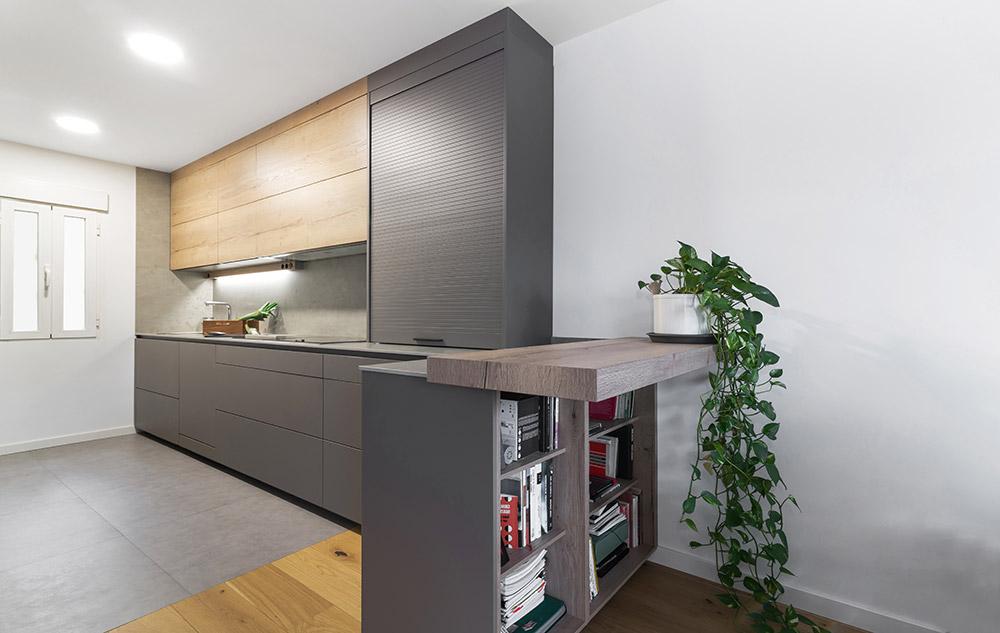 cocina espacios multiusos