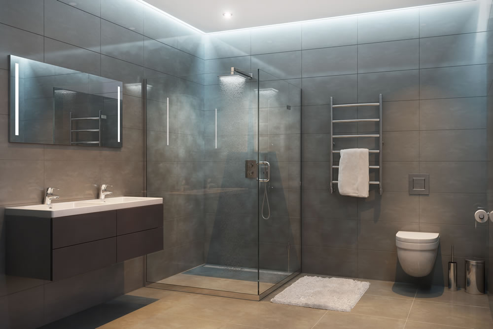 ducha suelo-baño moderno